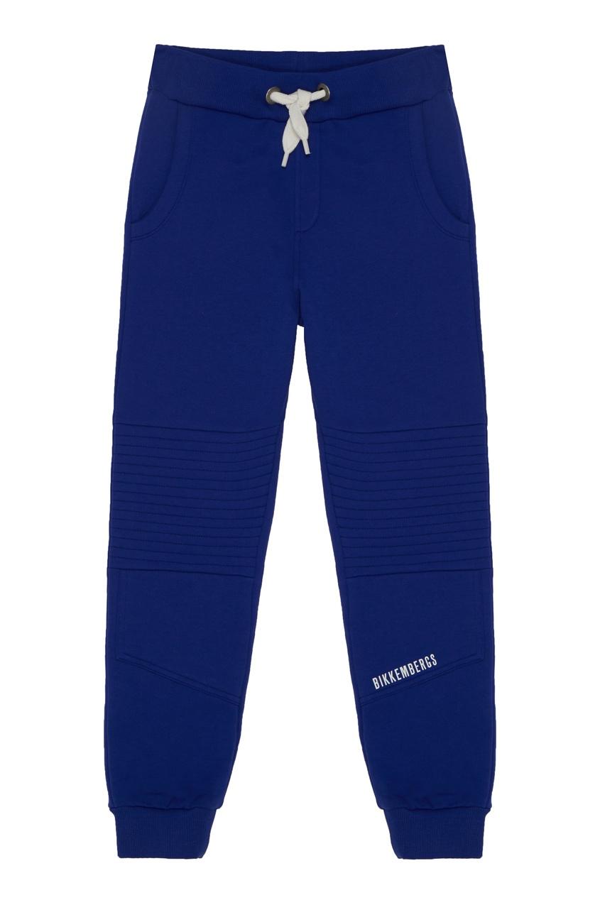 Ярко-синие спортивные брюки от Bikkembergs