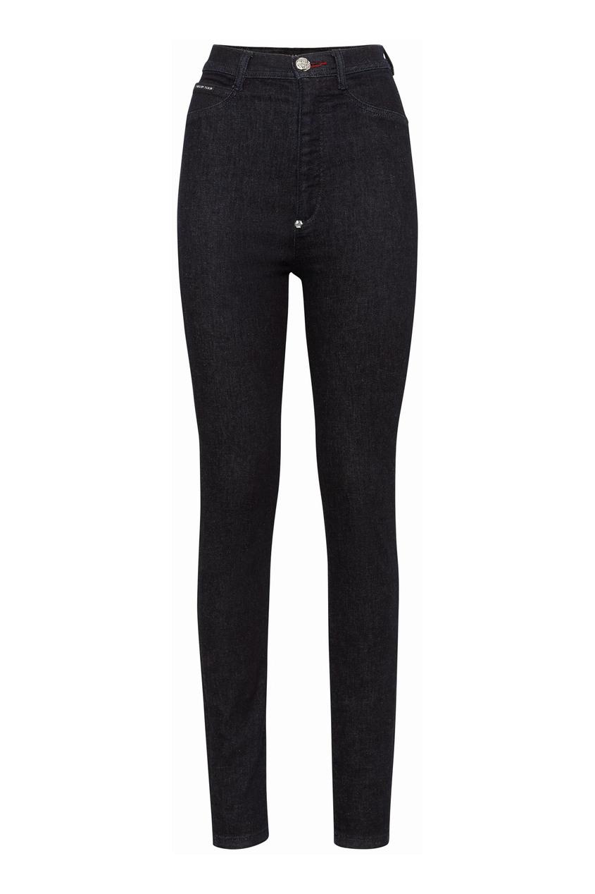 женские джинсы philipp plein, синие
