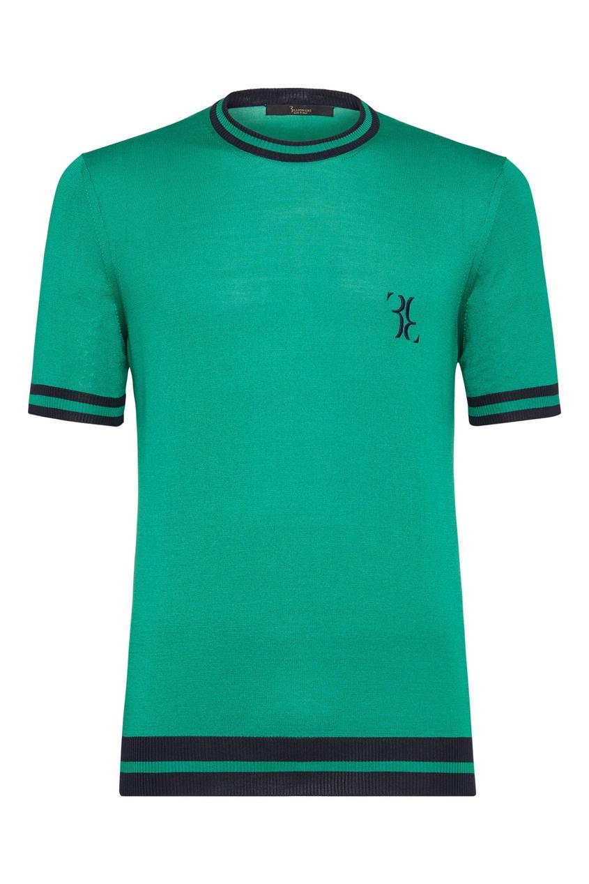 мужская футболка billionaire, зеленая