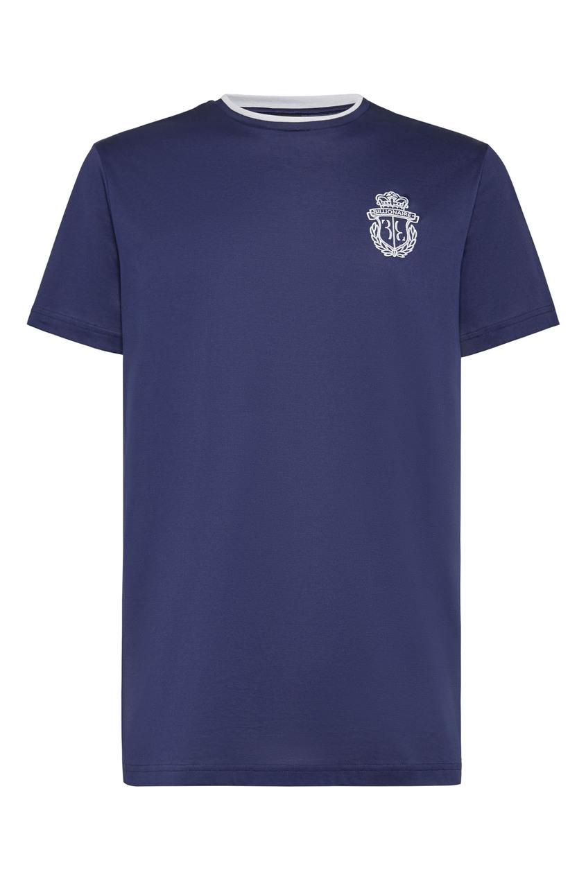 мужская футболка billionaire, синяя