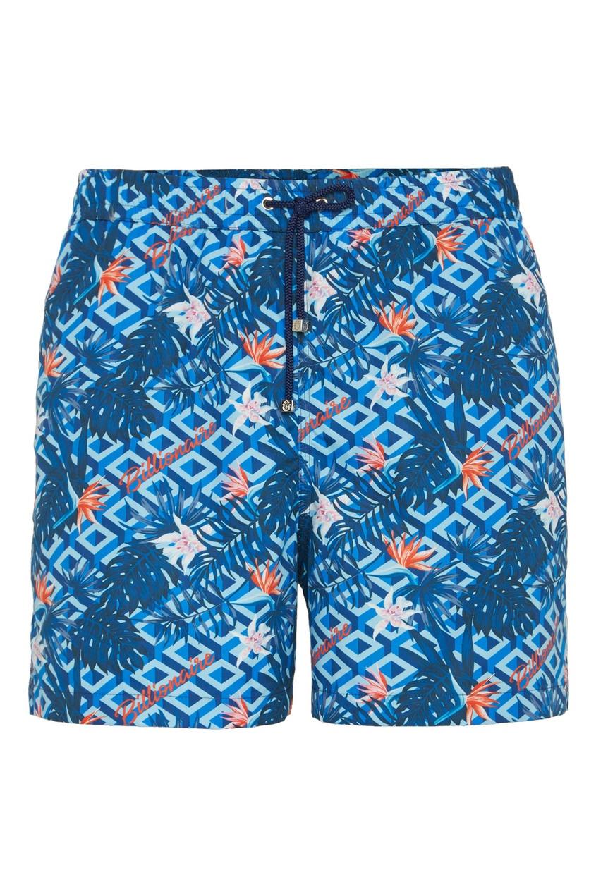 мужские шорты billionaire, синие