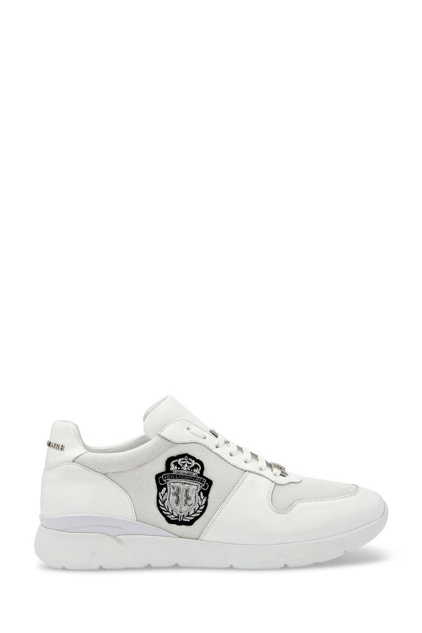 мужские кроссовки billionaire, белые