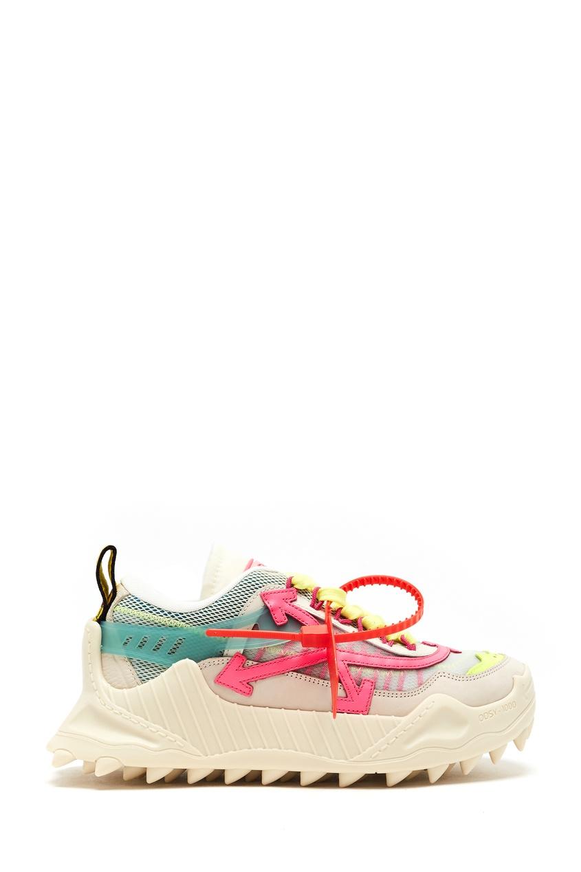 женские кроссовки off-white
