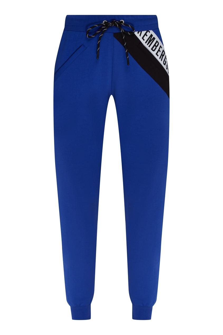 женские спортивные брюки dirk bikkembergs, синие