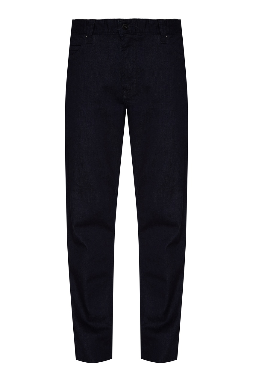 мужские джинсы emporio armani, синие