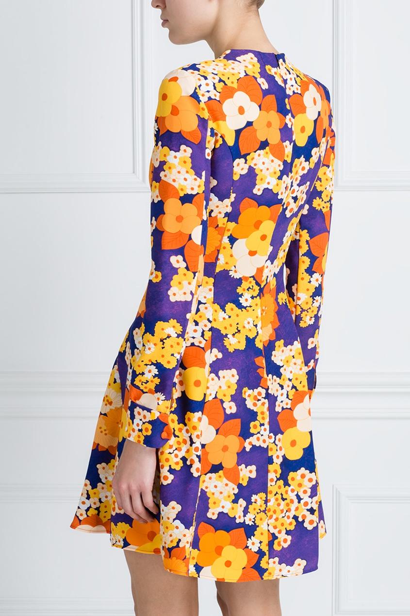 Платье с принтом от AIZEL