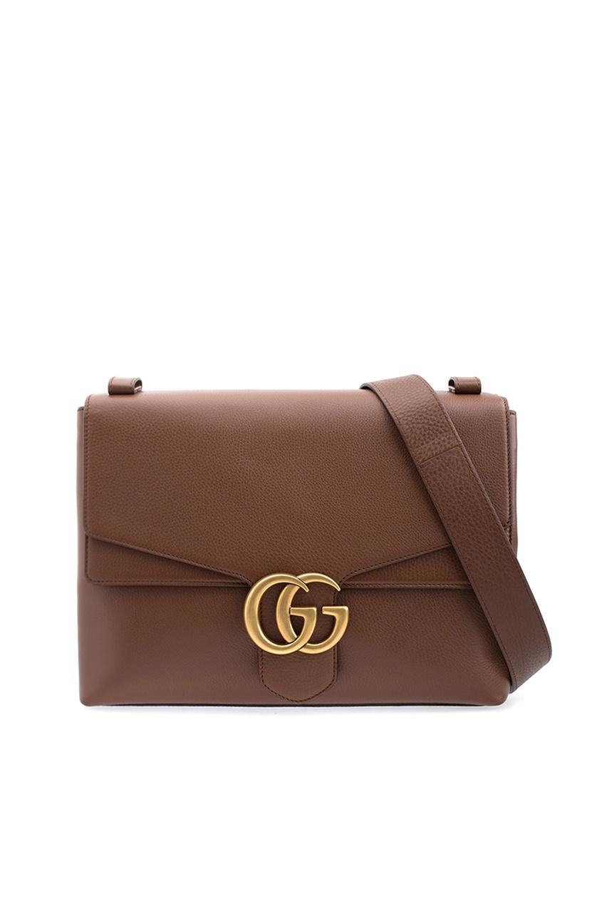 Gucci Кожаная сумка GG Marmont gucci кожаная сумка gg marmont