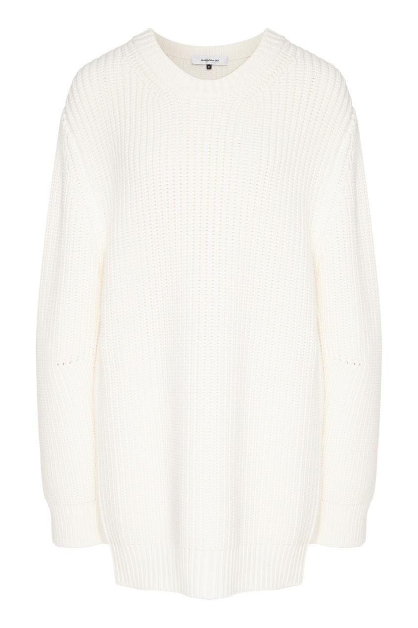 женский шерстяные свитер barbara bui, белый