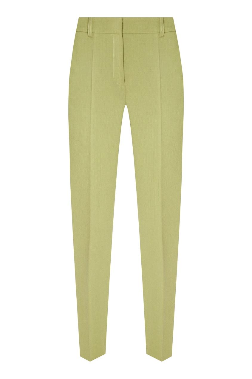 женские брюки alena akhmadullina, зеленые