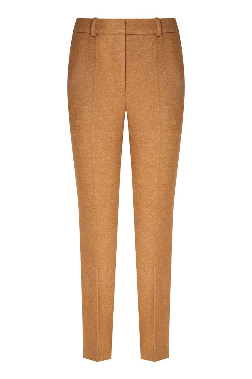 женские укороченные брюки alena akhmadullina, бежевые