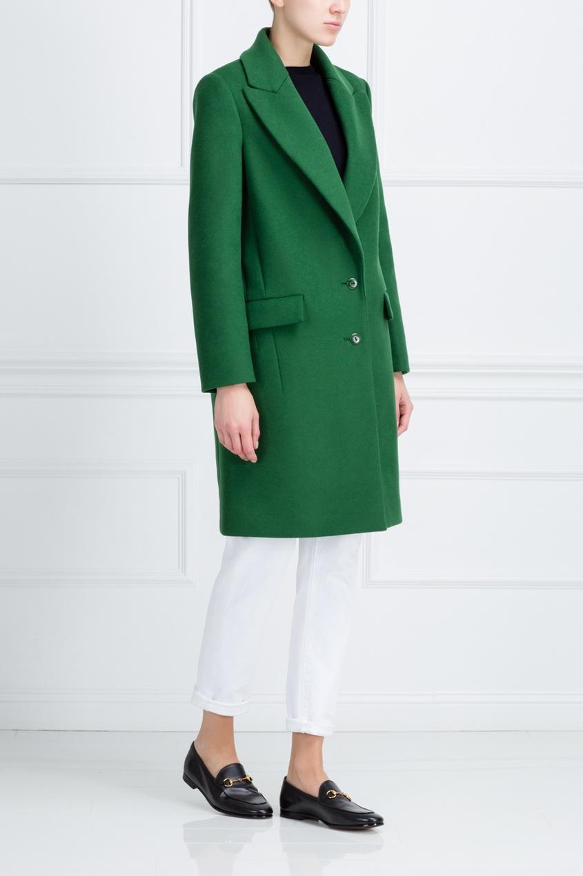 Cedric Charlier Шерстяное пальто