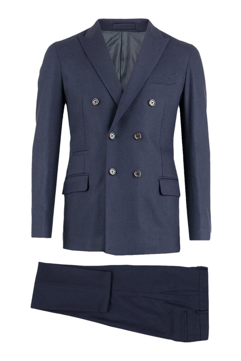 мужской костюм eleventy, синий