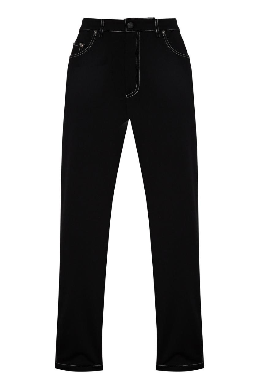 мужские брюки palm angels, черные