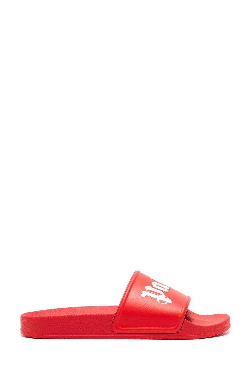 мужские пантолеты palm angels, красные
