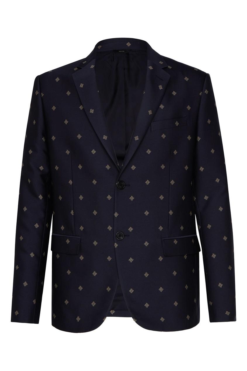 мужской пиджак fendi, черный