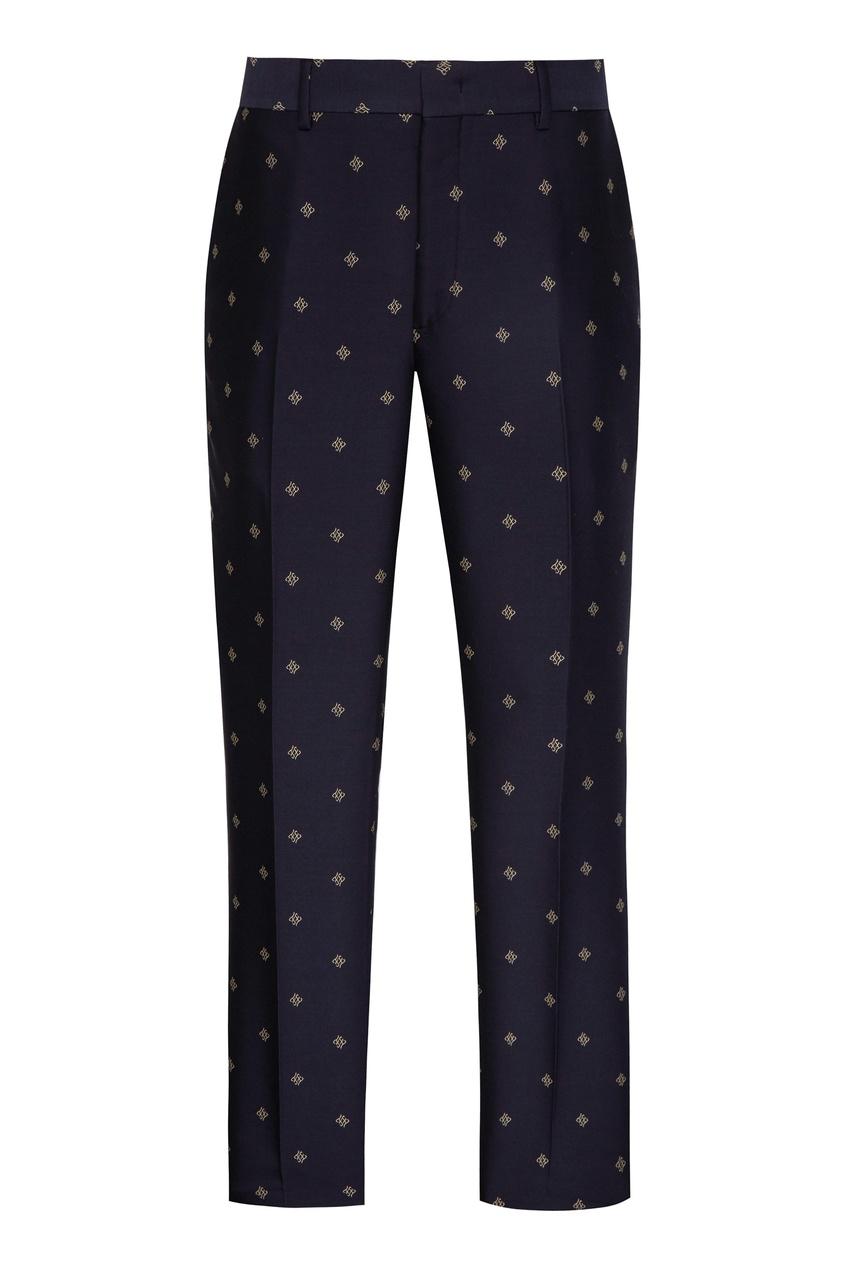 мужские брюки fendi, синие