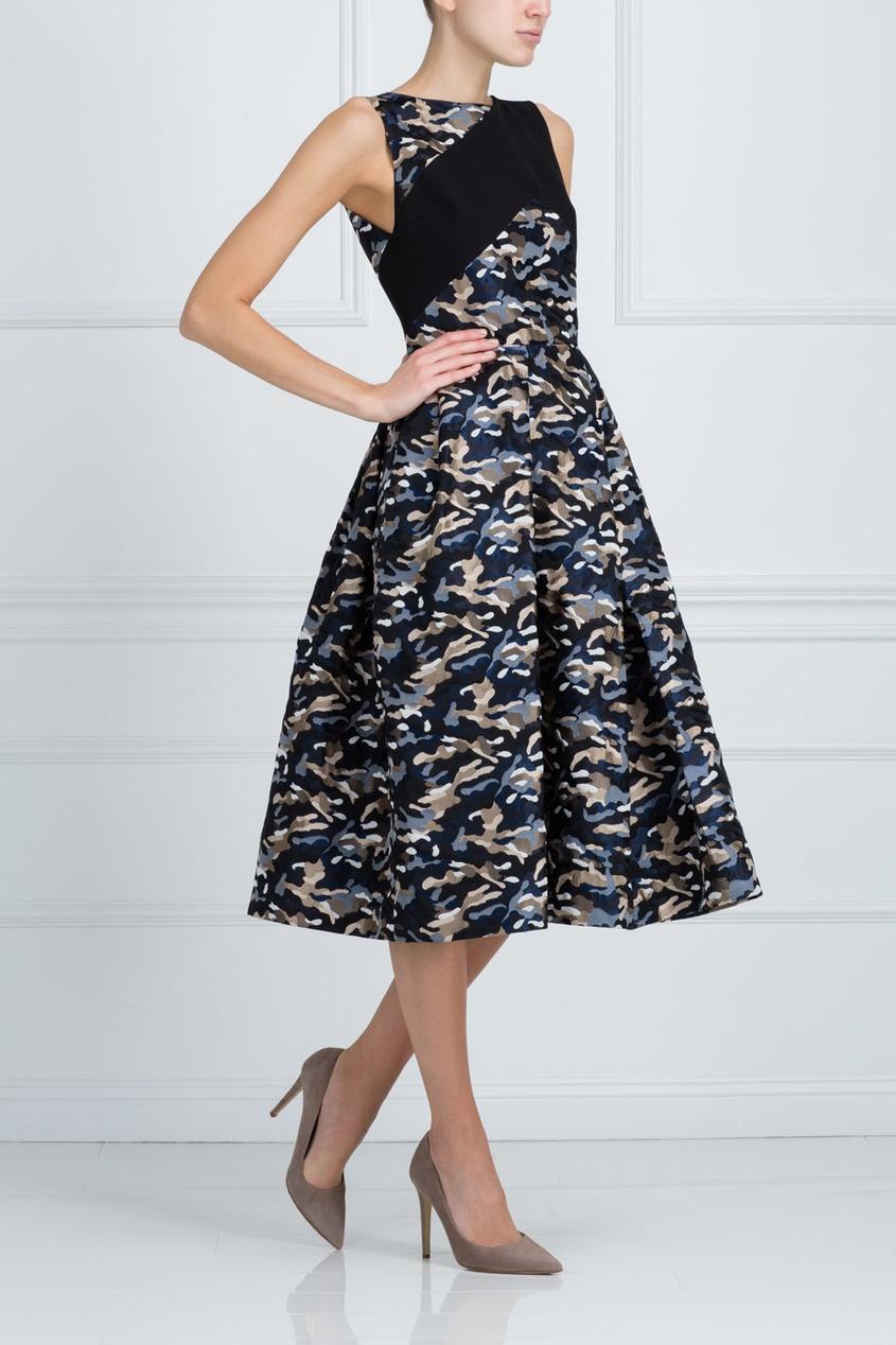 Фото 3 - Платье с принтом от Chapurin цвет multicolor