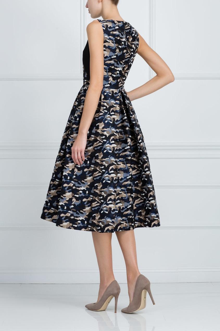 Фото 4 - Платье с принтом от Chapurin цвет multicolor