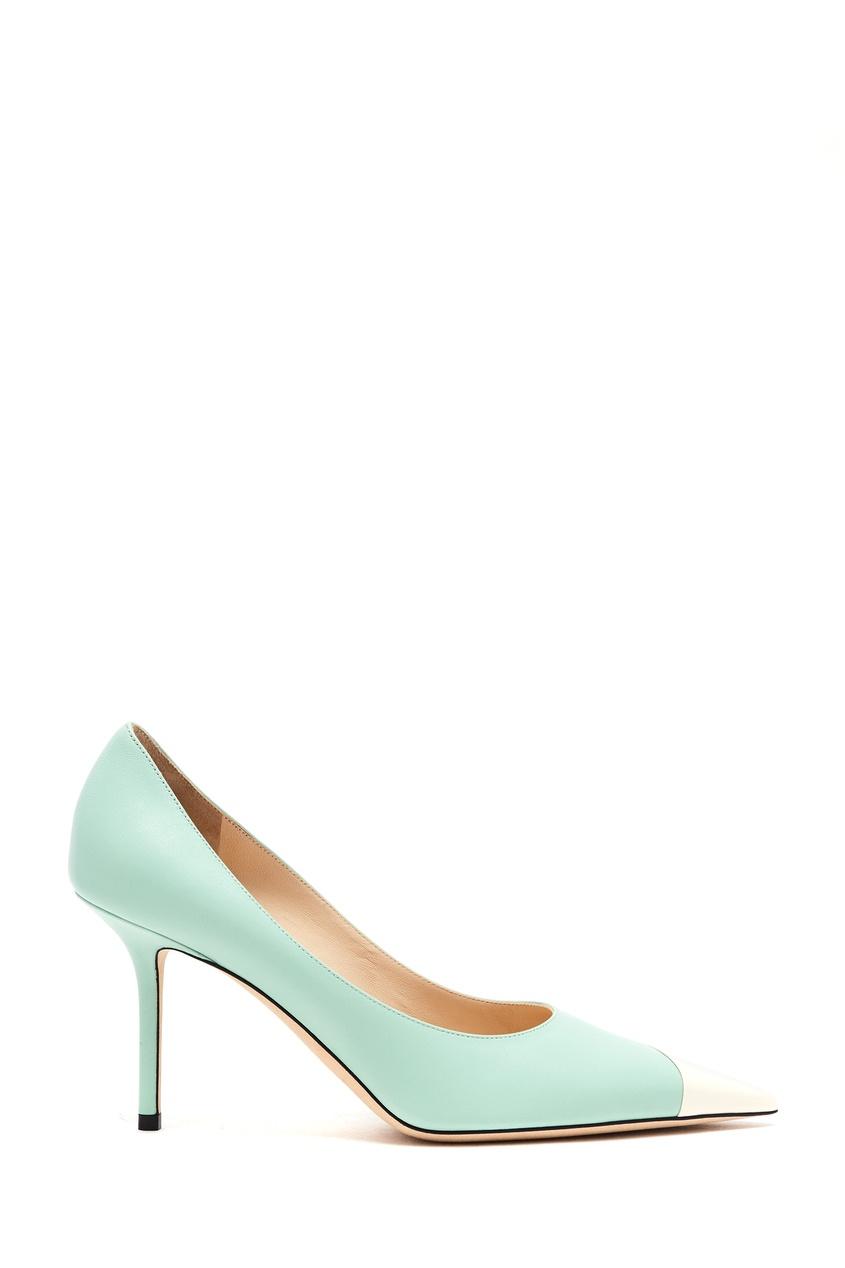 женские туфли jimmy choo, зеленые