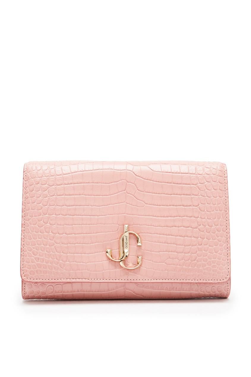 Клатч розового цвета Varenne от Jimmy Choo