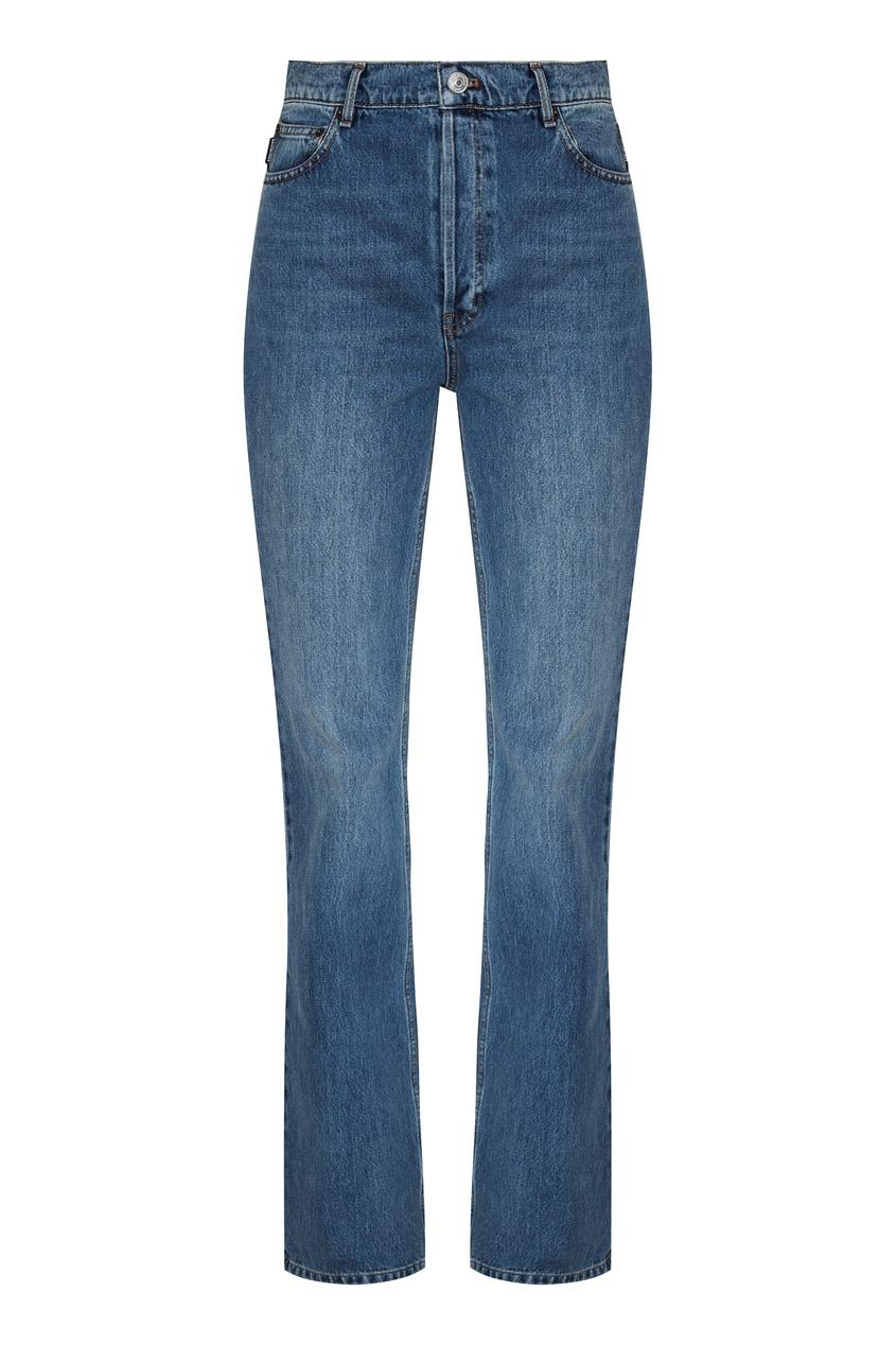 женские джинсы balenciaga, синие