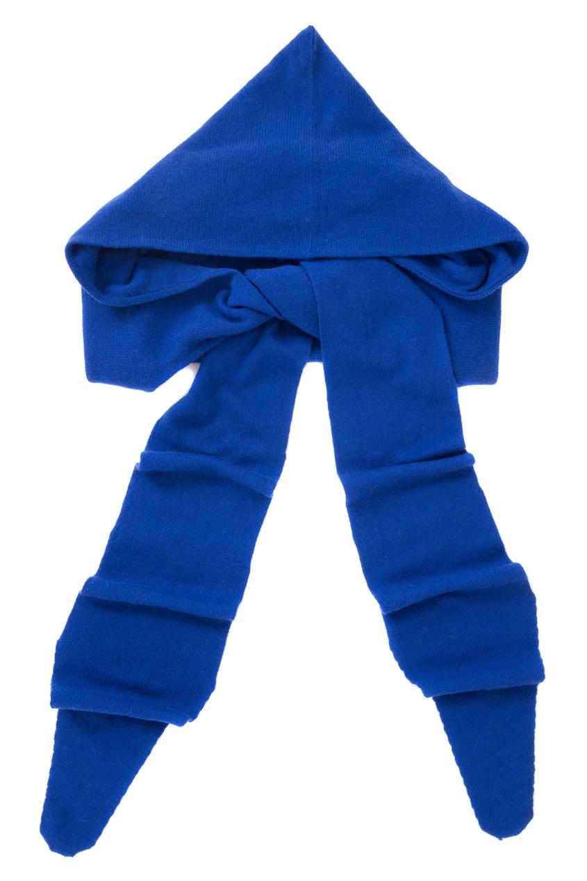 Шерстяной шарф-воротник
