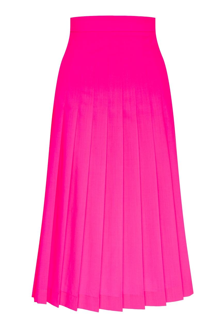 женская юбка msgm, розовая