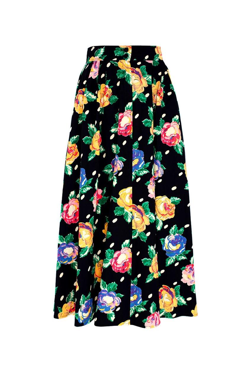 Хлопковая юбка (80-е)