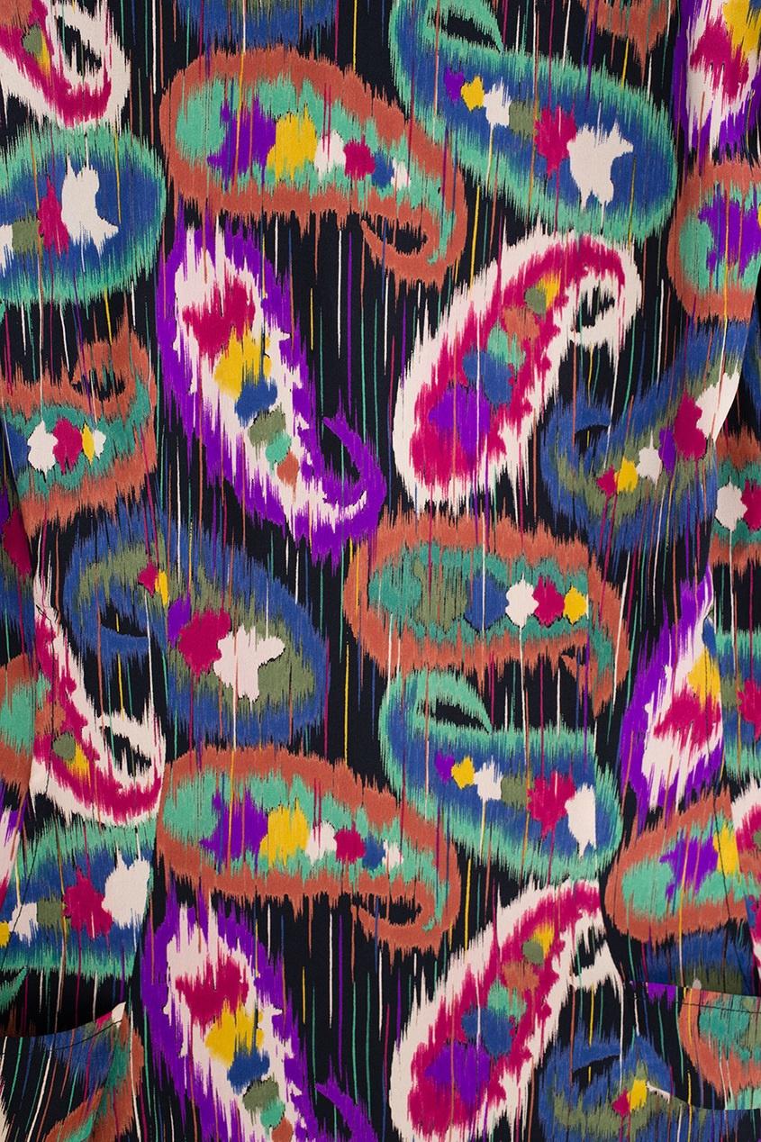 Шелковое платье (80-е)