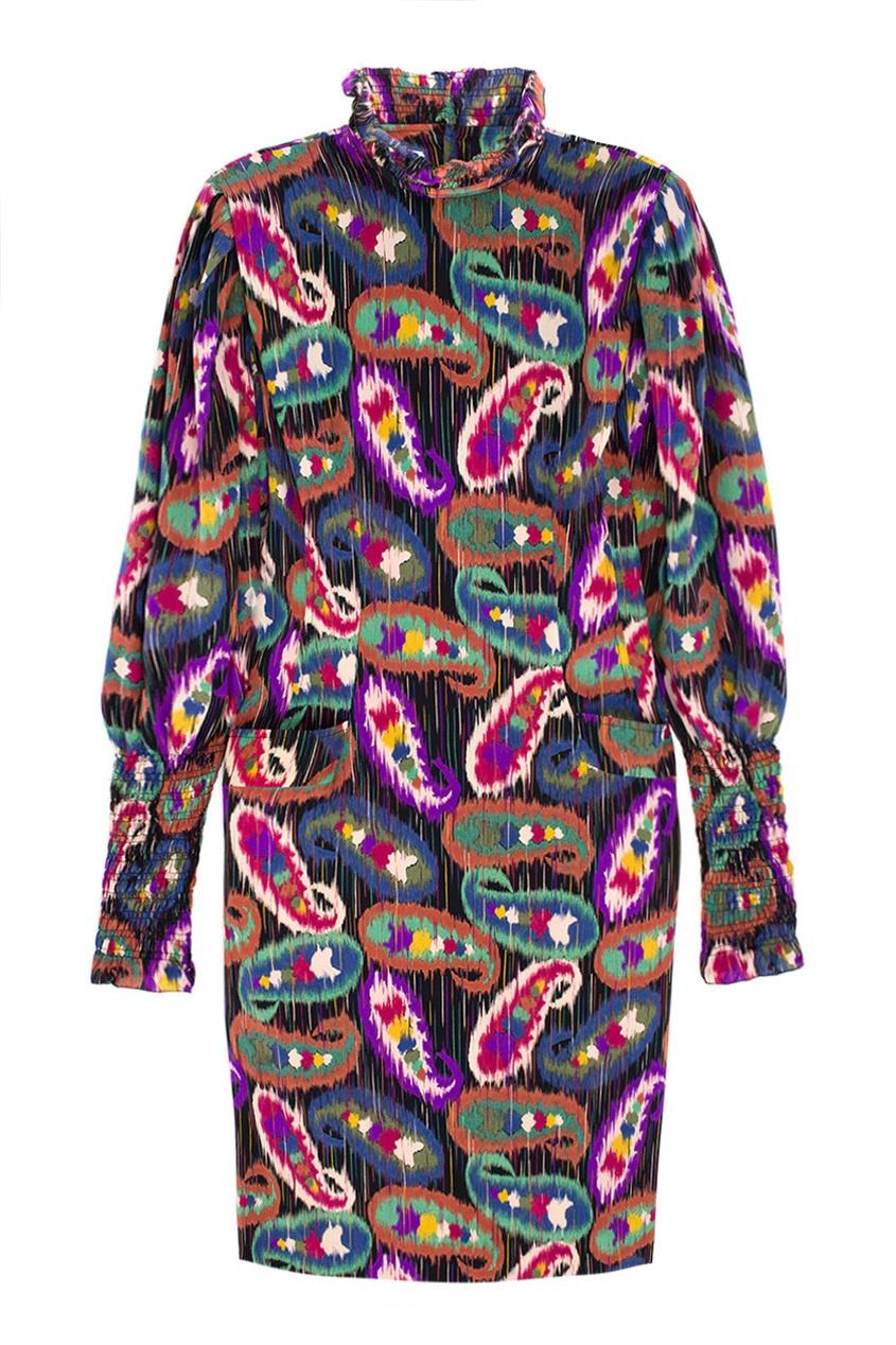 Emanuel Ungaro Vintage Шелковое платье (80-е)