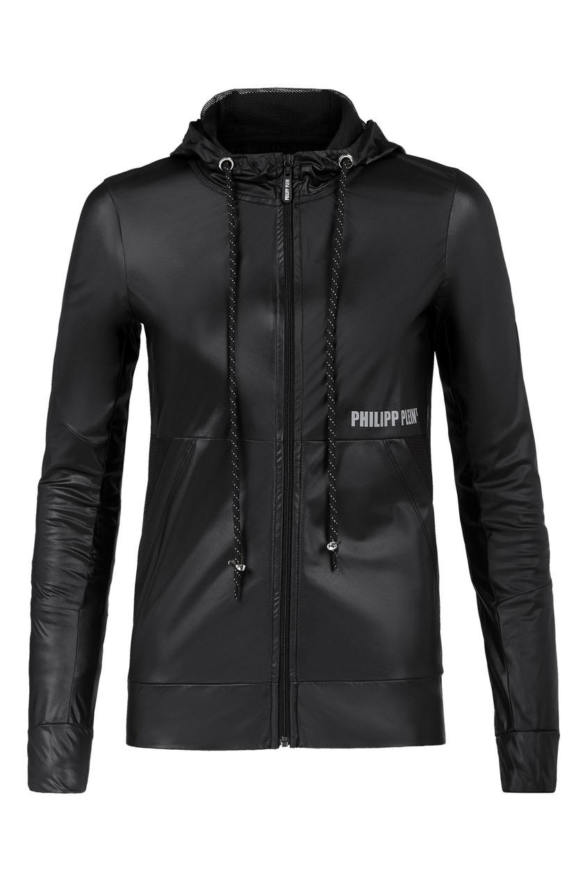 женская спортивные куртка philipp plein, желтая