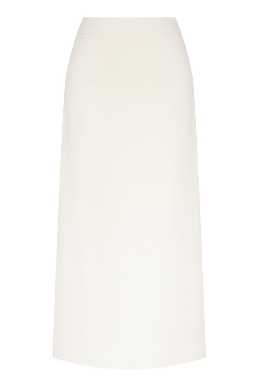 женская юбка миди alena akhmadullina, белая