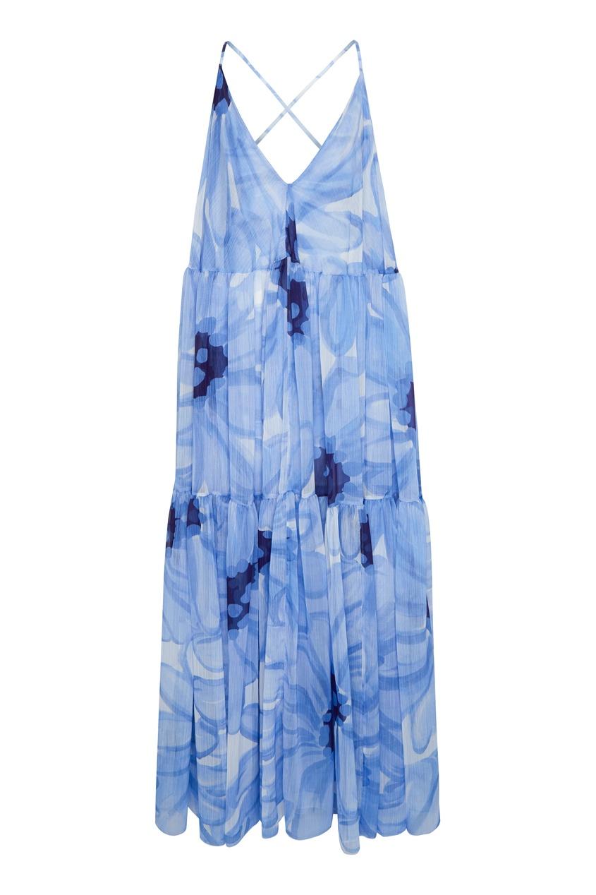Голубое платье Mistral JACQUEMUS