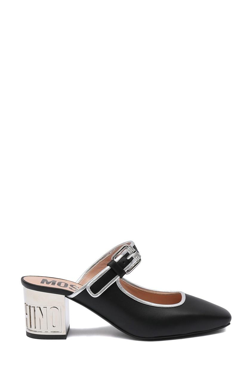 женские туфли moschino, черные