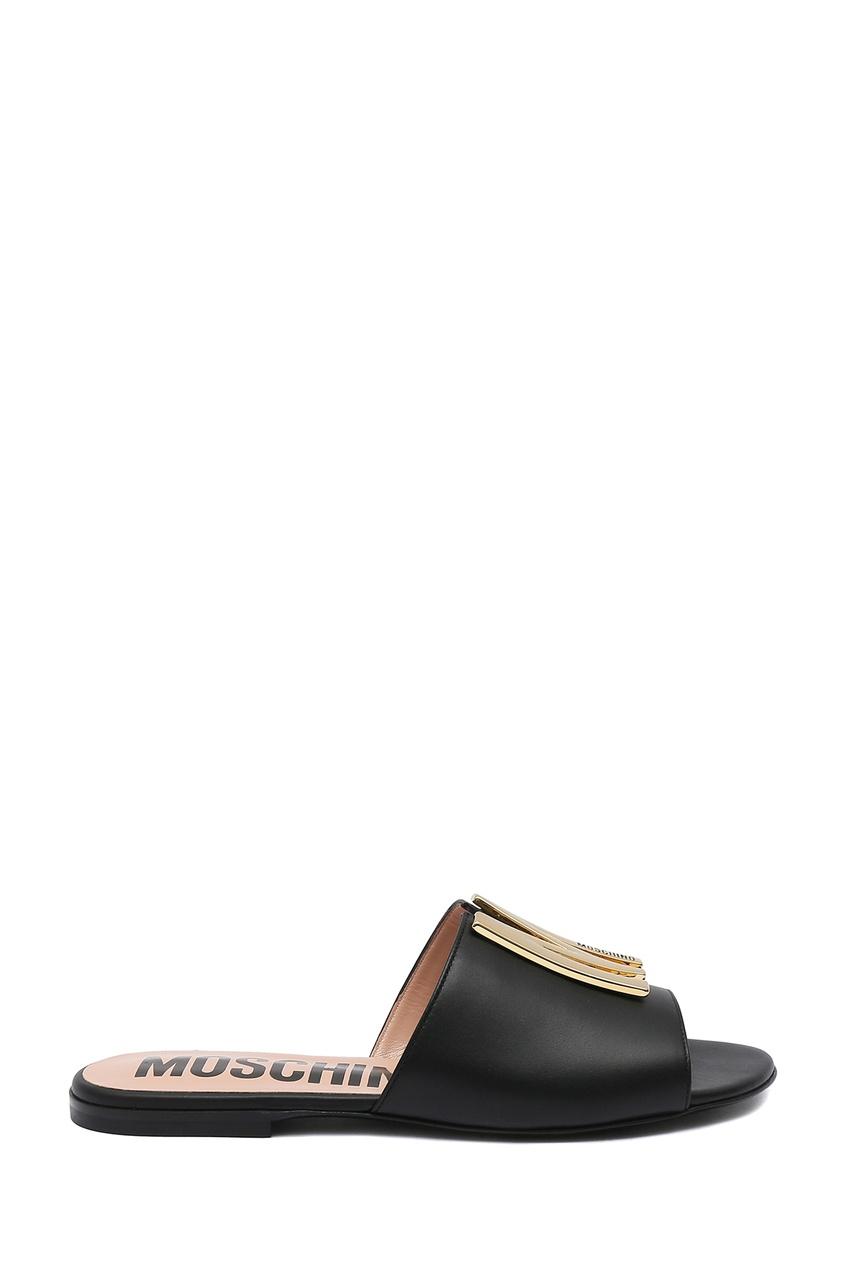 женские пантолеты moschino, черные