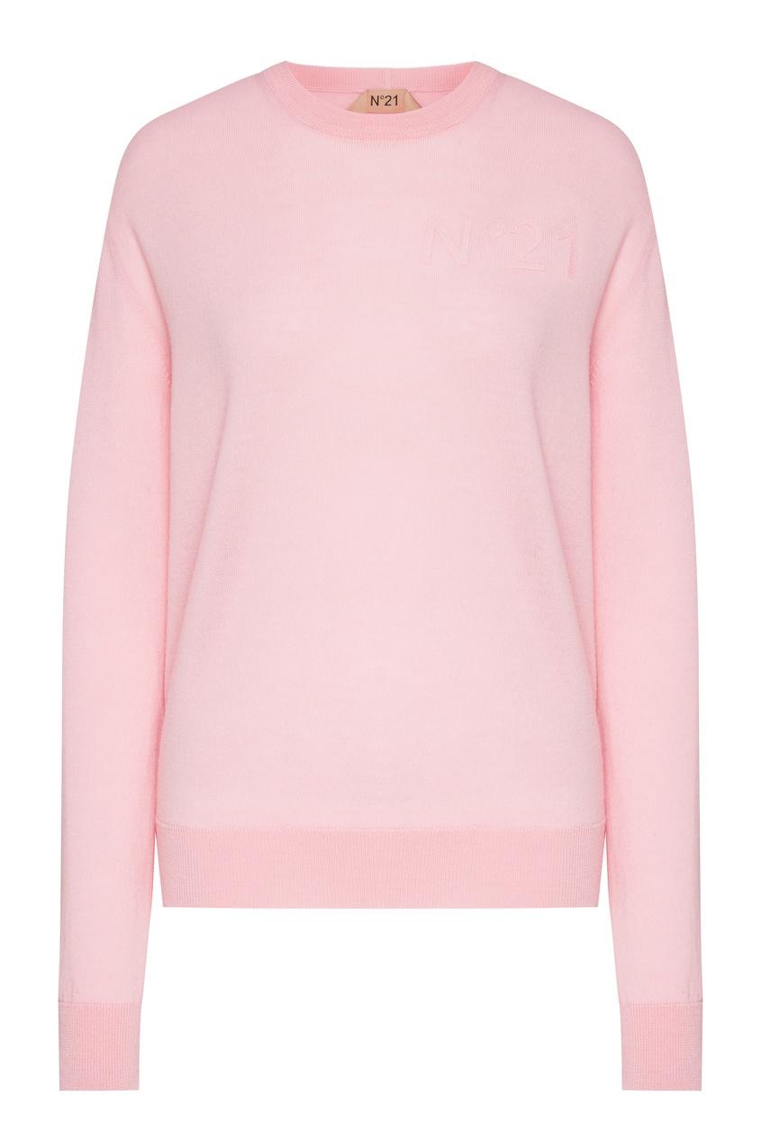 женский свитшот no.21, розовый