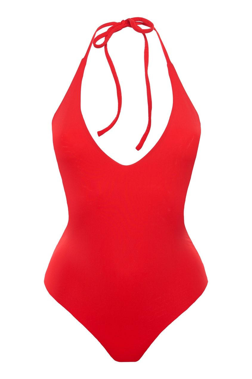 женский купальник petra, красный