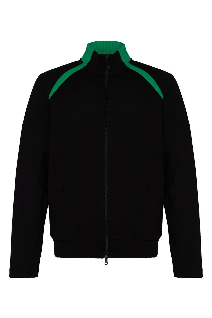 мужская спортивные куртка bikkembergs, черная
