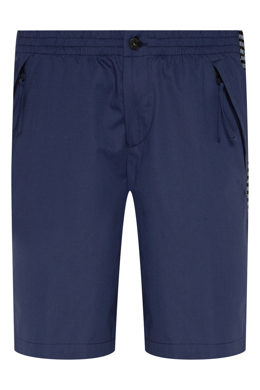 мужские шорты bikkembergs, синие