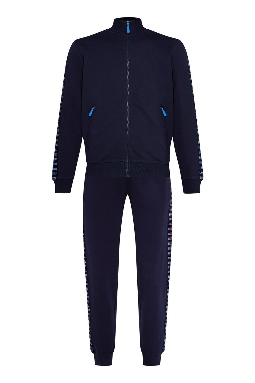 мужской спортивный костюм bikkembergs, синий