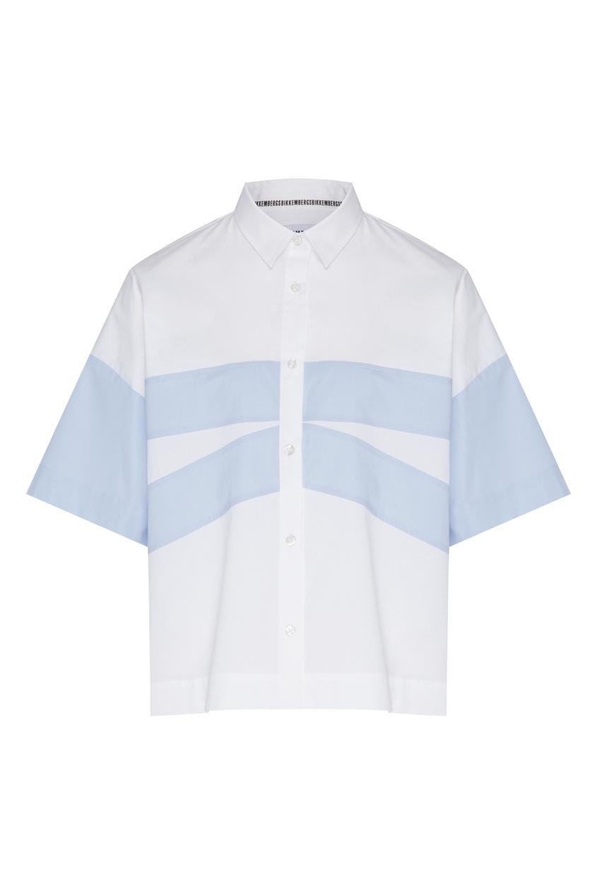 женская рубашка bikkembergs