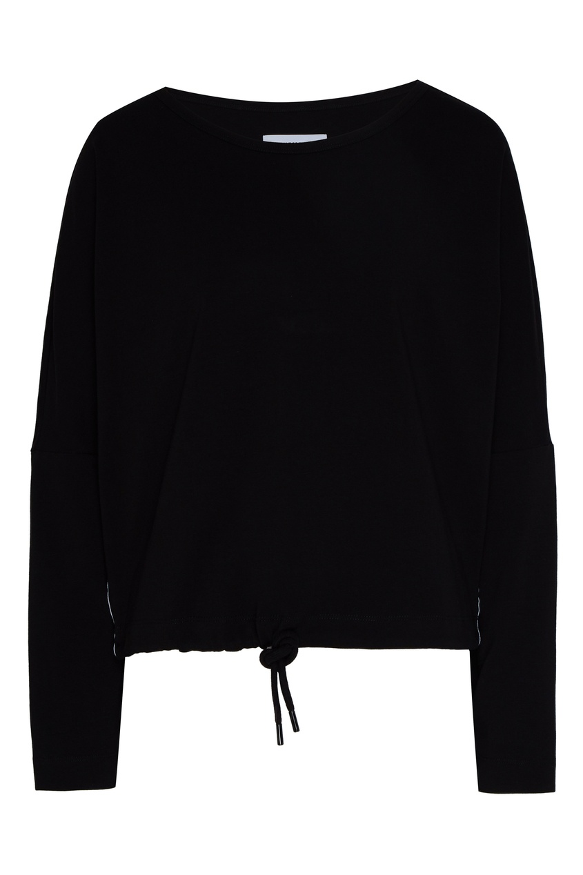 женская блузка bikkembergs, черная