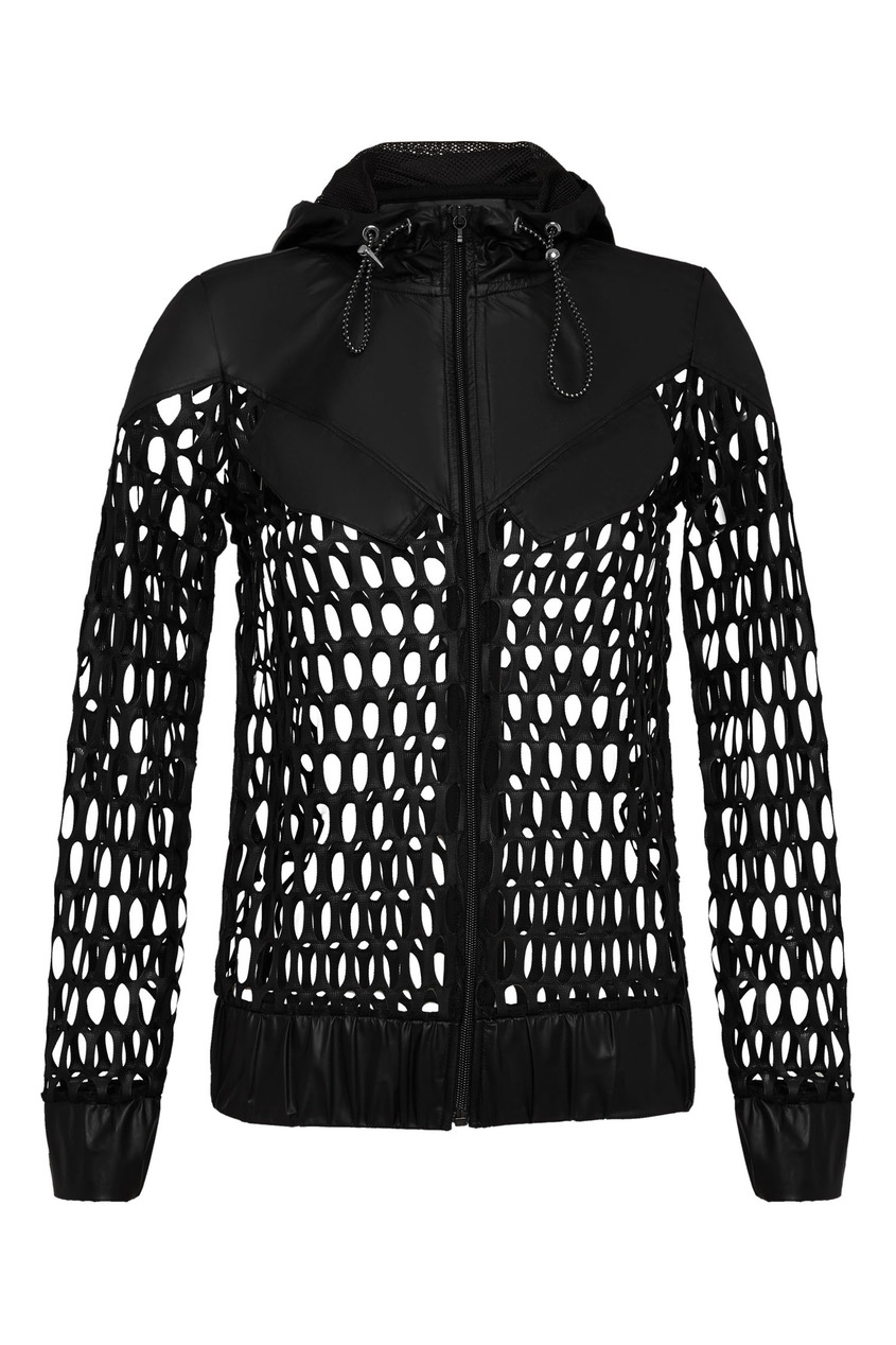женская куртка philipp plein, черная