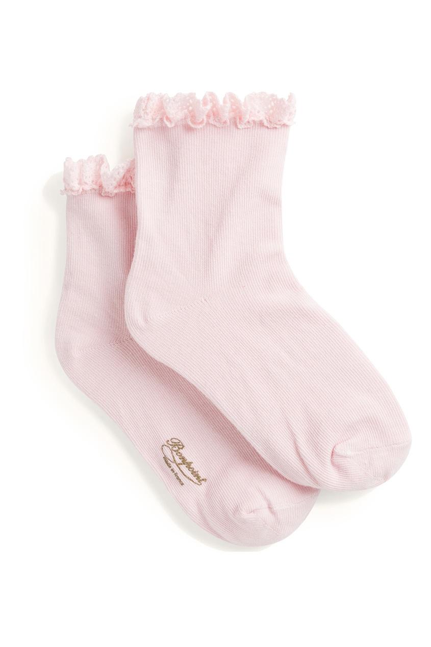 Носки с кружевной отделкой Bonpoint