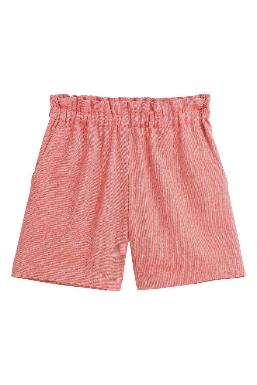 Розовые шорты с карманами от Bonpoint