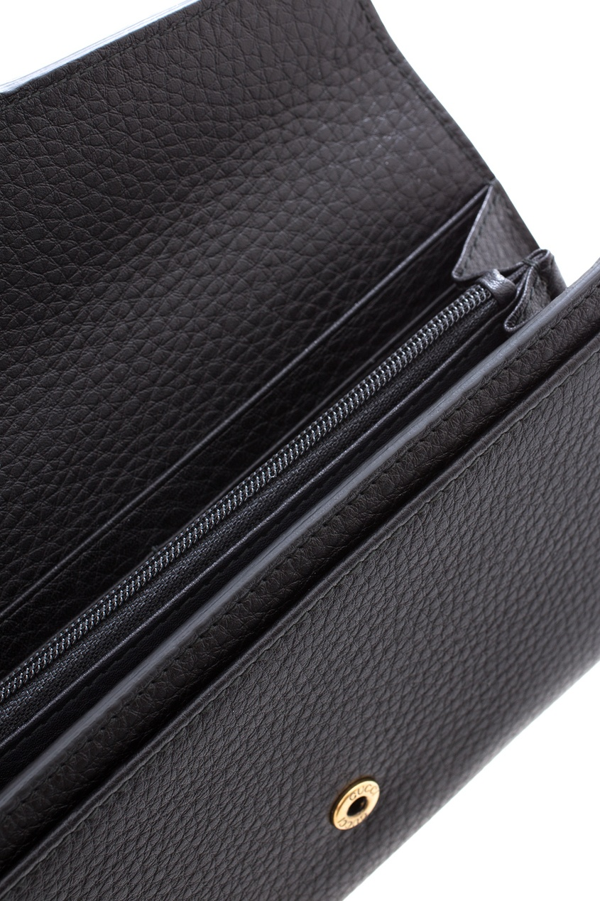 Кожаный кошелек GG Marmont Continental