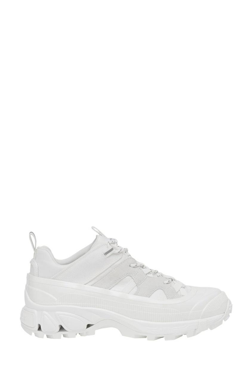 мужские кроссовки burberry, белые