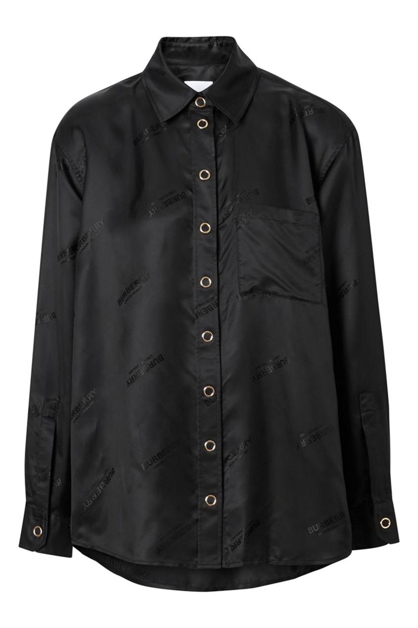 женская блузка burberry, черная
