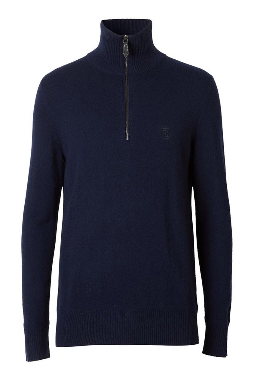 мужской свитер burberry, синий