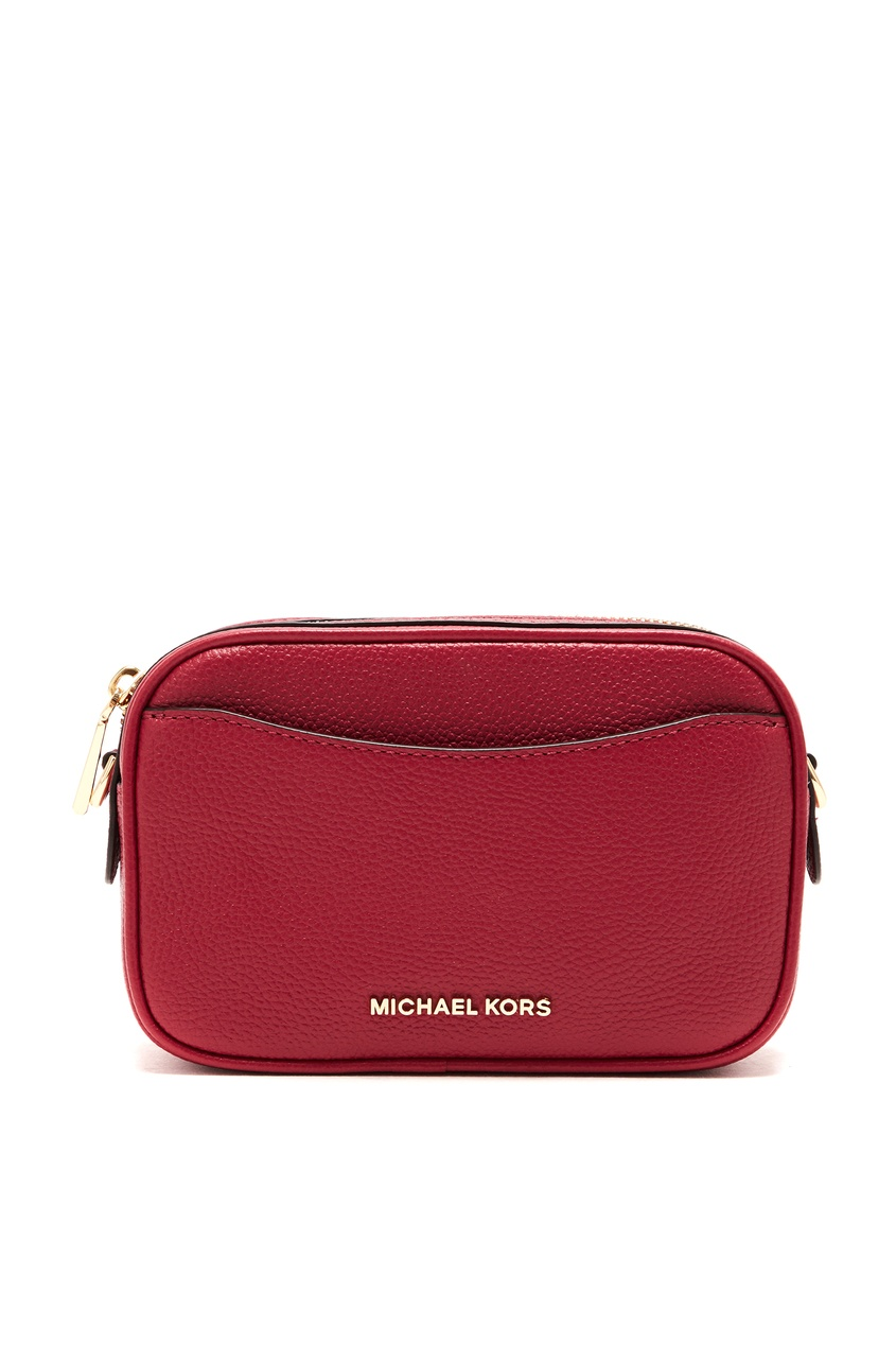 женская сумка-кроссбоди michael kors, розовая